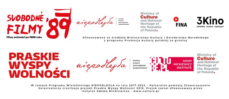 Logotypy 3KINO - CZECHY