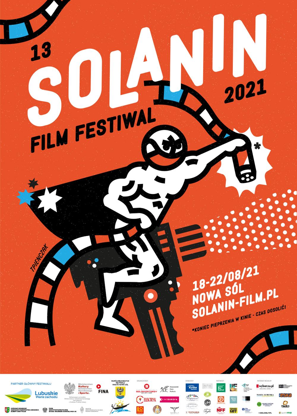 Plakat 13. Solanin Film Festiwal
