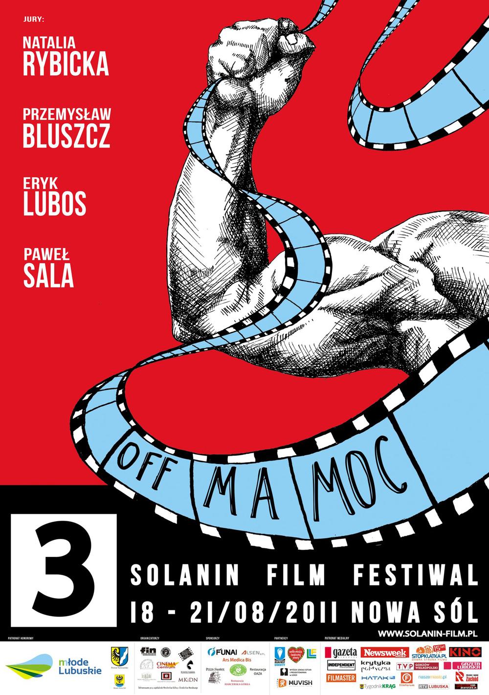 Plakat 3. Solanin Film Festiwal