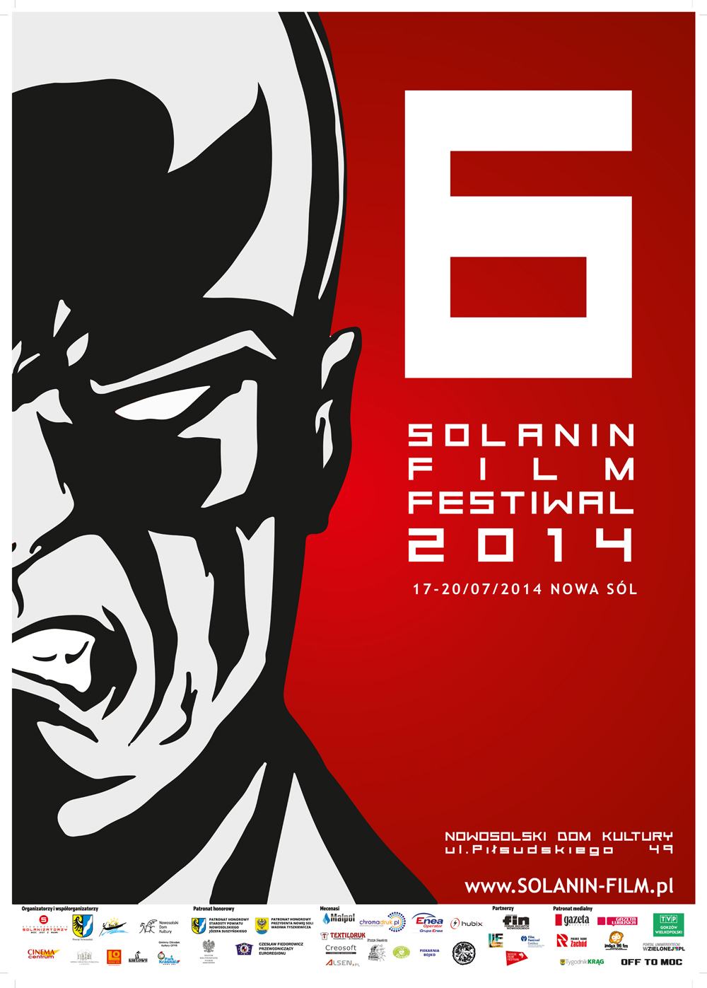 Plakat 6. Solanin Film Festiwal