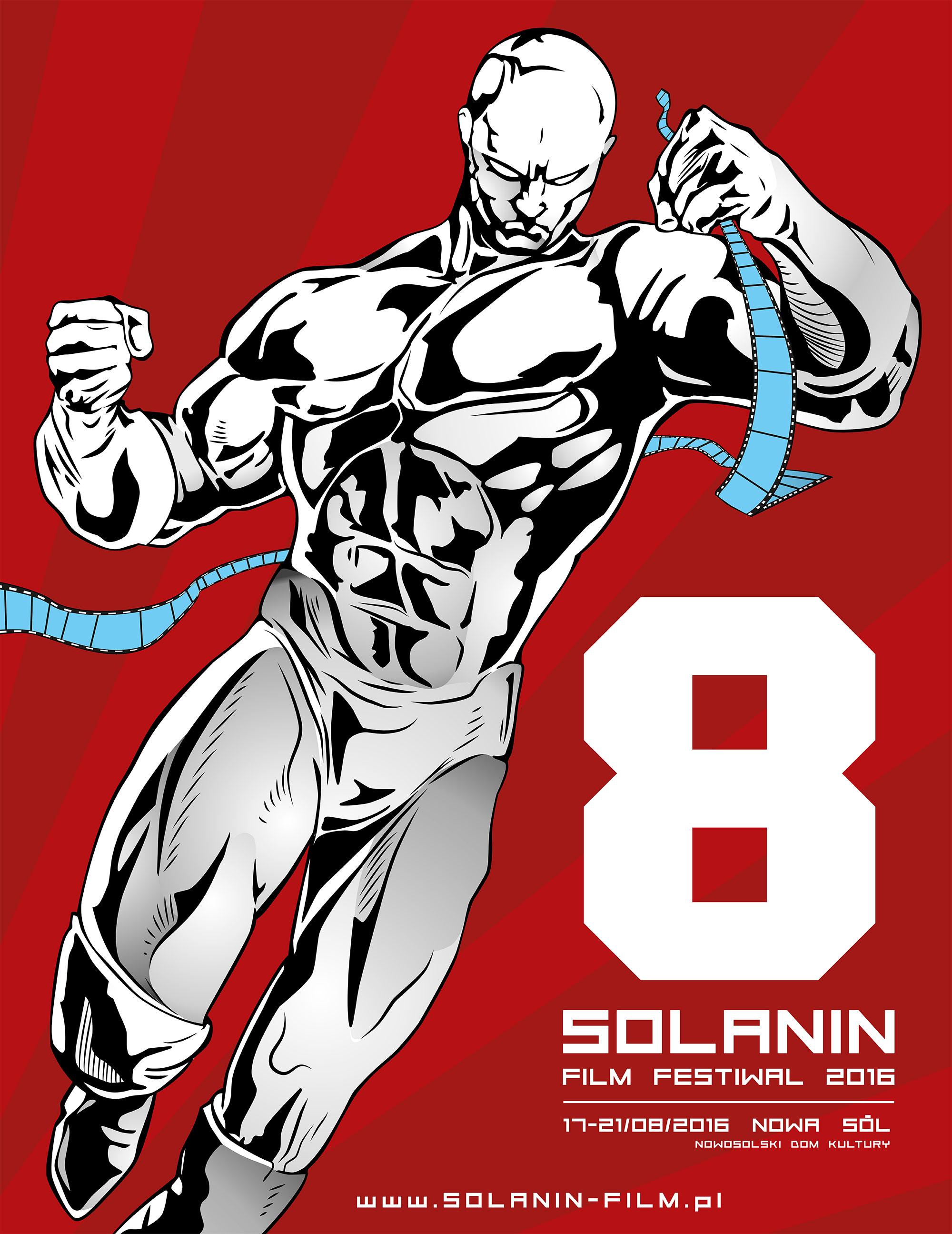 Plakat 8. Solanin Film Festiwal