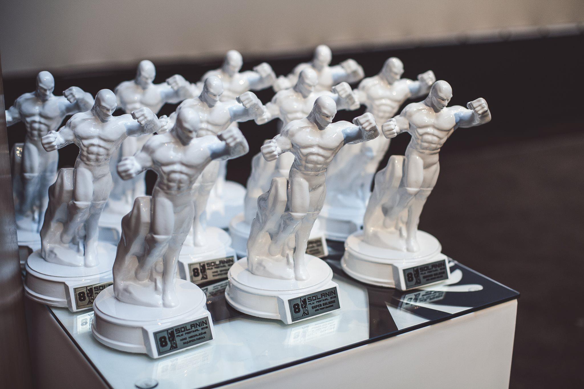 Statuetki Solanin Film Festiwal